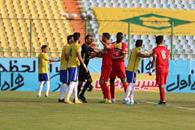 Foolad VS Sanat Naft has ended with a draw